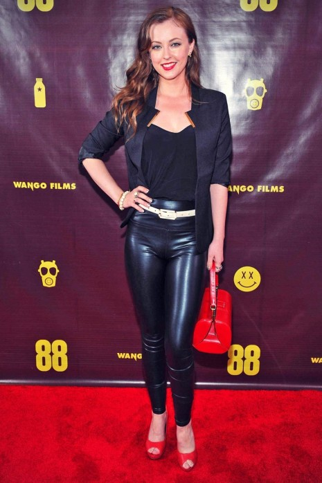 Katharine Isabelle Attends The Canadian Premiere Katharine Isabelle