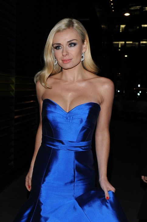 Katherine Jenkins Attends Martell Event At Brasserie Blanc Covent Garden January Katherine Jenkins
