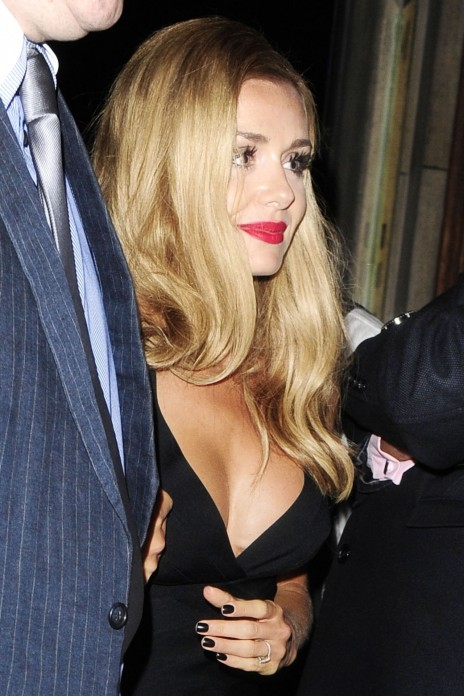 Katherine Jenkins Night Out Style Out In London August Katherine Jenkins