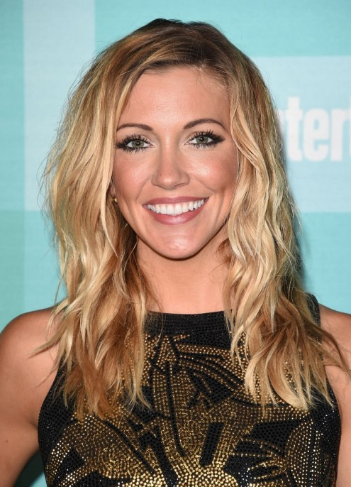 Katie Cassidy Attends The Entertainment Weekly Party At Comic Con