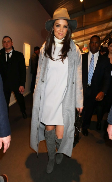 Katie Holmes Marc Cain Fashion Show In Berlin