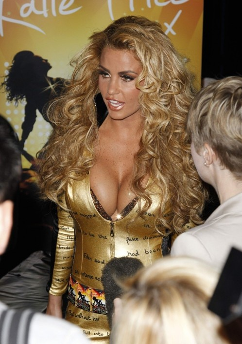 Katie Price Attempts To Break Guinness World Record For Largest Book Signing Katie Price