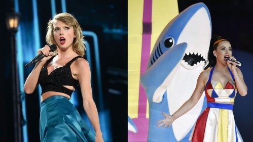 Katy Perry Taylor Swift Shark Taylor Swift