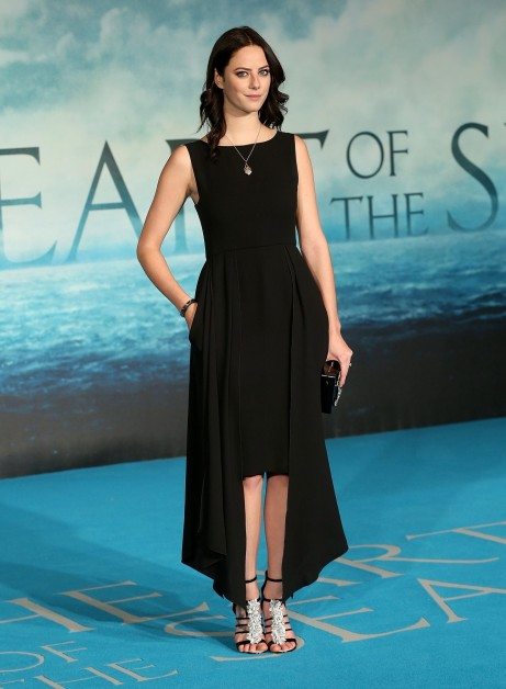 Kaya Scodelario In The Heart Of The Sea Premiere Wednesday December Nd London Uk Kaya Scodelario