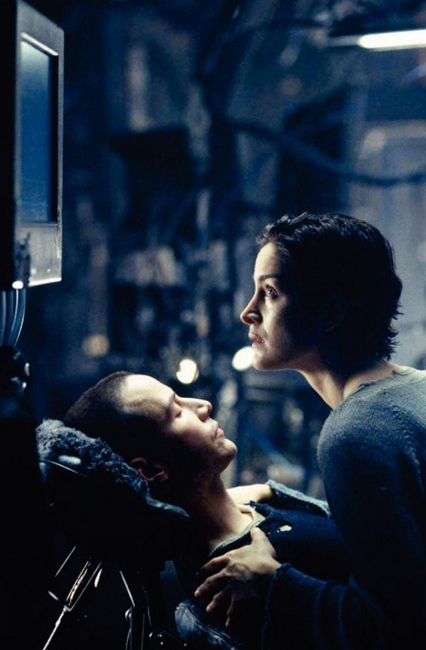Still Of Keanu Reeves And Carrie Anne Moss In Matrix Large Picture Matrix