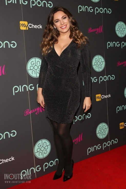 Kelly Brook At The Ping Pong Restaurant Launch November Kelly Brook