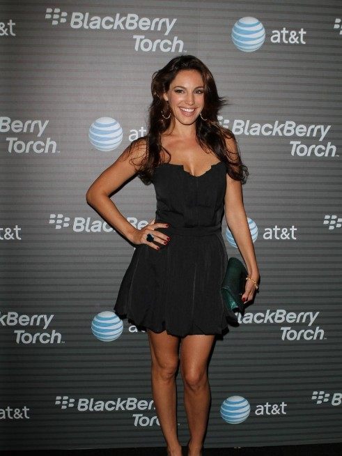 Kelly Brook Black Party Dress Kelly Brook