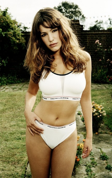 Kelly Brook Naked Ralph Lauren