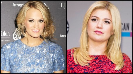 Carrie Underwood Kelly Clarkson Kelly Clarkson