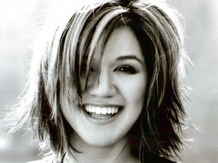 Kelly Clarkson Bw Photos Wallpaper