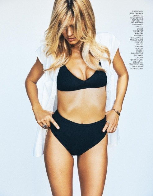 Kelly Rohrbach Grazia Italy Cover Photoshoot Width Height Ext Kelly Rohrbach
