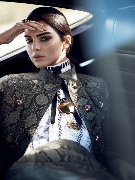 Kendall Jenner By David Sims For Vogue Magazine January Kendall Jenner