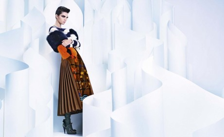 Kendall Jenner Fendi Fall Winter Advertising Campaign Kendall Jenner
