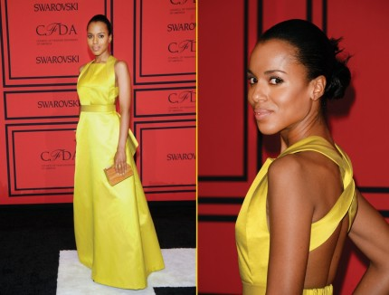 Kerry Washington Attends Cfda Fashion Awards At Alice Tully Hall Fashion
