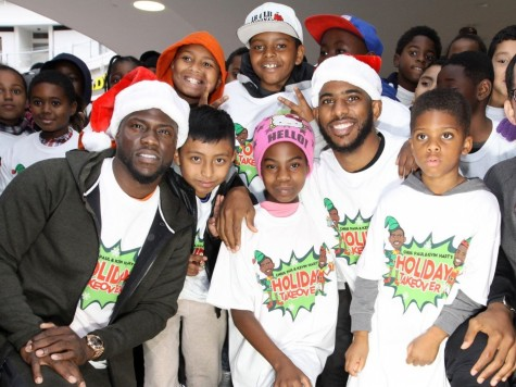 Chris Paul And Kevin Hart Took Kids Shopping For Christmas Kevin Hart