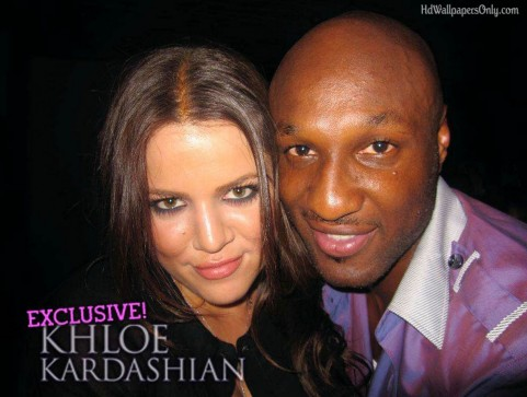 Lamar Odom And Wife Oe Kardashian Wallpaper