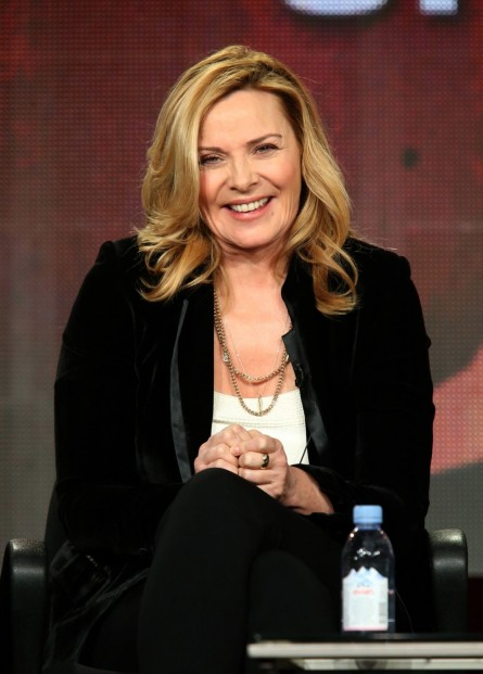 Kim Cattrall Winter Tca Tour Shakespeare Uncovered Panel In Pasadena Police Academy
