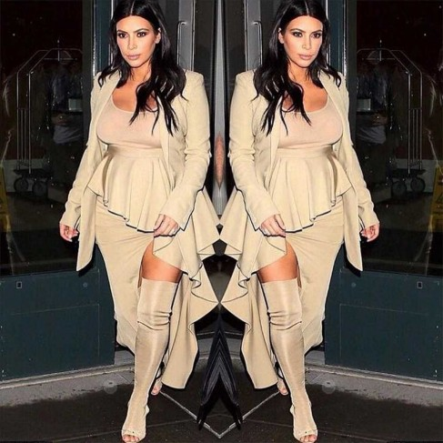 Kim Kardashian Instagram New York Fashion Week Kimkardashianinstagram Large