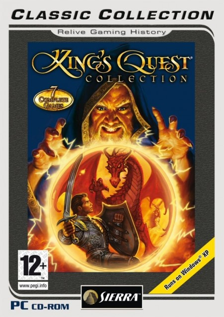 King Quest Collection Windows Front Cover King Quest Collection