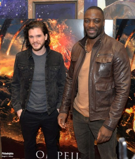 Kit Harington And Adewale Akinnuoye Agbaje Resized Kit Harington