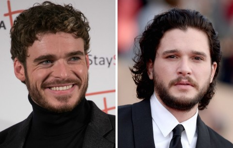 Richard Madden Kit Harington Jon Snow Got Reporters Kit Harington