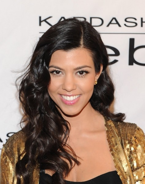 Kourtney Kardashian Long Hairstyles Long Curls Dllyp Tksx Kourtney Kardashian