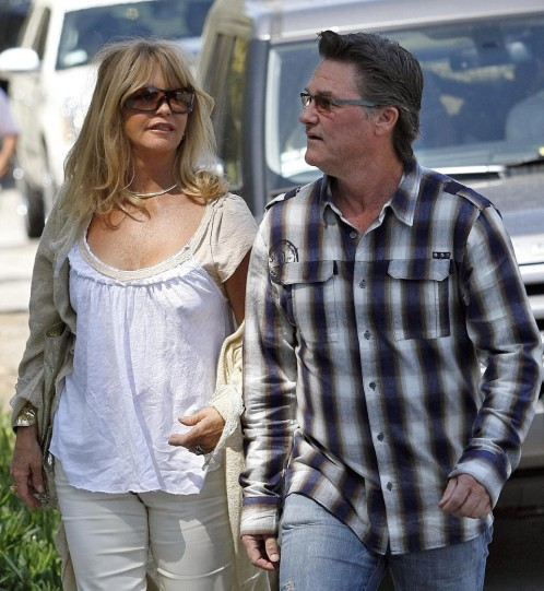 Kurt Russell Goldie Hawn On Kate Hudsons Pregnancy Kurt Russell