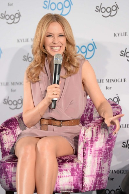 Kylie Minogue Sloggi Lingerie Qa In Berlin