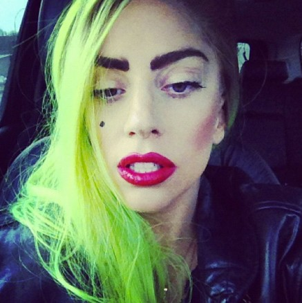 Lady Gaga Hair Color
