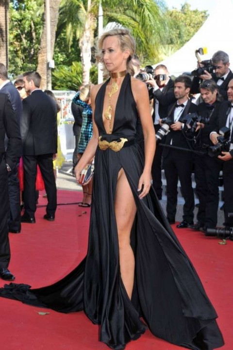 Lady Victoria Hervey Ng On Red Carpet At Cannes Lady Victoria Hervey