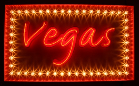 Vegas Neon Hire Sign Sign