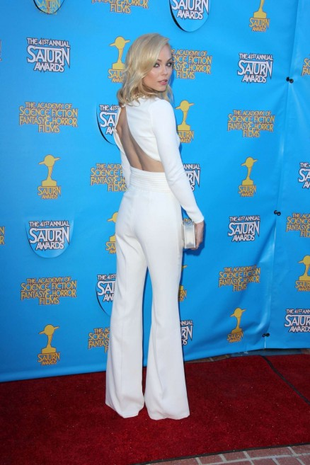 Laura Vandervoort Saturn Awards In Burbank