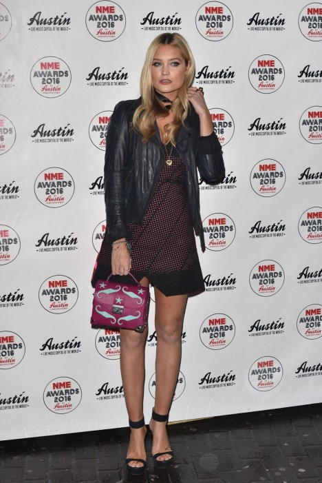 Laura Whitmore At Nme Awards Afterparty In London Laura Whitmore