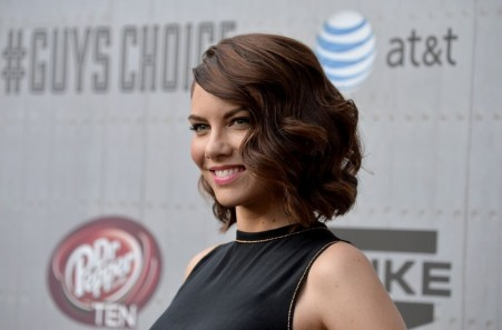 Lauren Cohan At Spike Tv Guy Choice Awards In Culver City Tv