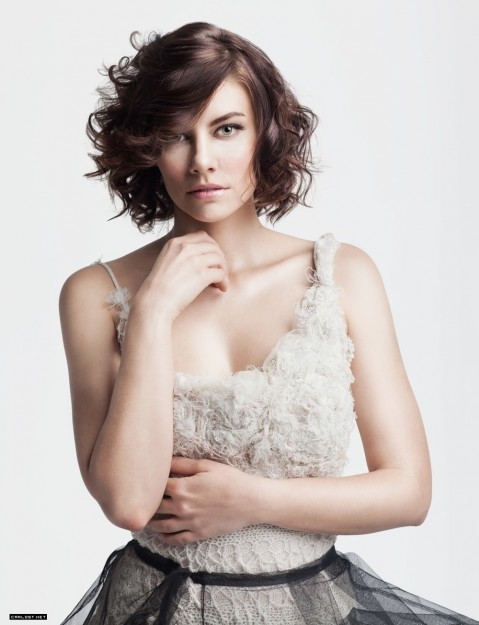 Lauren Cohan By Eide Magazine Gif Cb Aced Ff Fa Large Gif
