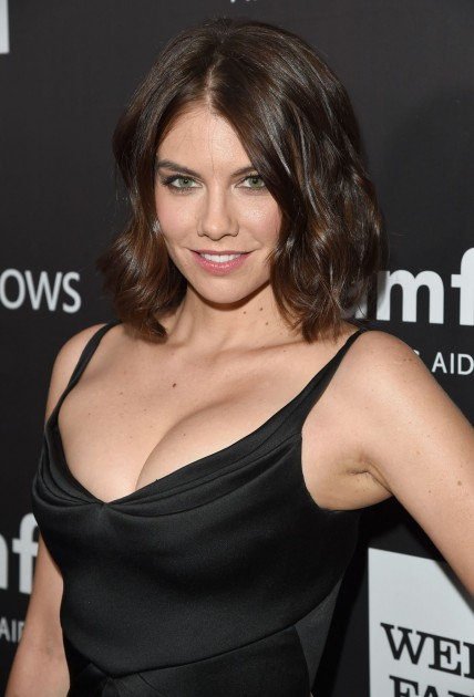 Lauren Cohan In Black Top Walking Dead Supernatural