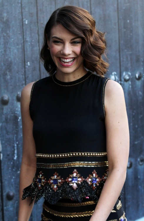 Lauren Cohan Spike Tvs Guys Choice Awards