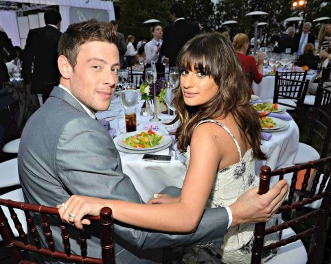 Cory Monteith Lea Michele Glee Main And Cory Monteith