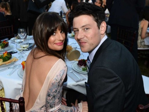 Lea Michele And Cory Monteith Wallpaper