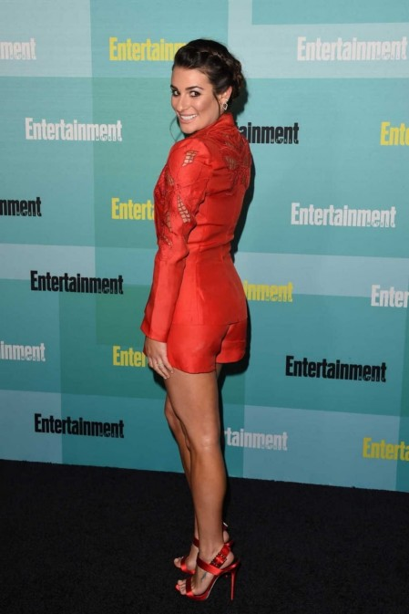 Lea Michele Entertainment Weekly Party At Comic Con In San Diego July