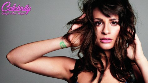 Lea Michele Height And Weight Body