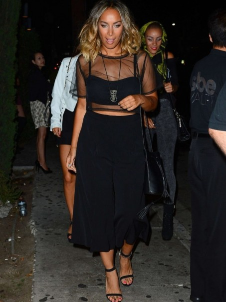 Leona Lewis Leaving Party At Graystone Manor Ragged Priest Stella Mccartney Leona Lewis
