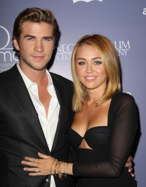 Liam Hemsworth And Miley Cyrus Engaged Wallpaper And Miley Cyrus