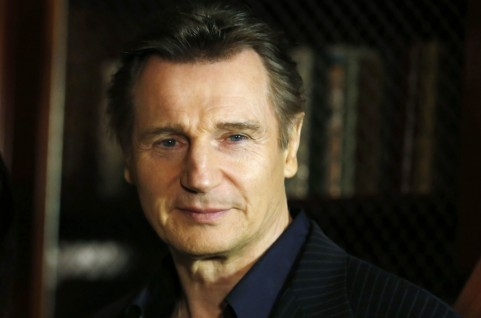Liam Neeson Photo Ad Taken