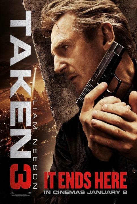 Taken New Intl Poster Movies