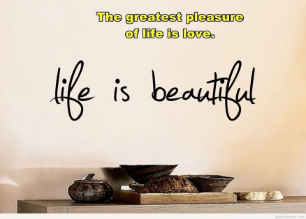 Life Is Beautiful Wallpaper Quote Quotes