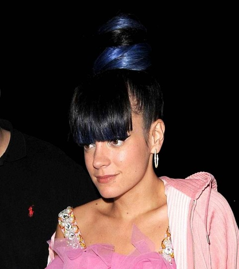 Lily Allen At Her After Diaporama