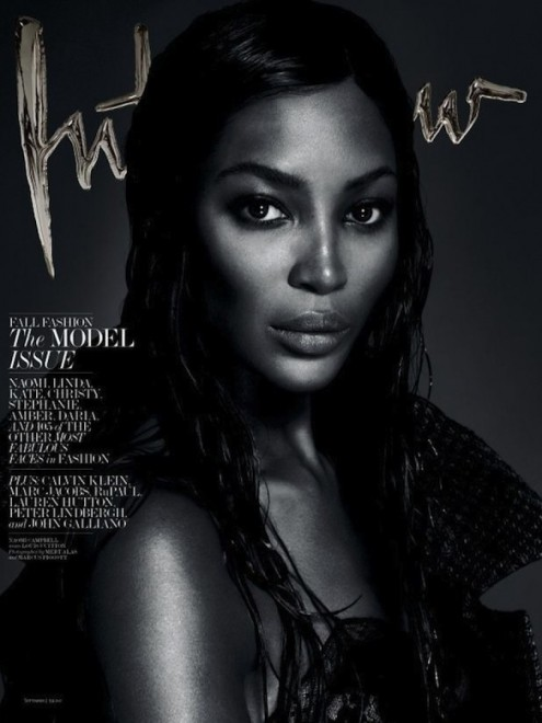 Naomi Campbell Kate Moss Daria Werbowy Linda Evangelista Amber Valletta Stephanie Seymour And Christy Turlington Interview September Mert Marcus Linda Evangelista
