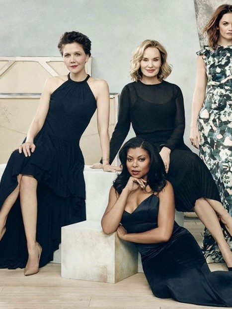 Viola Davis Taraji Henson Lizzy Caplan Ruth Wilson Jessica Lange And Maggie Gyllenhaal For The Hollywood Reporter Lizzy Caplan