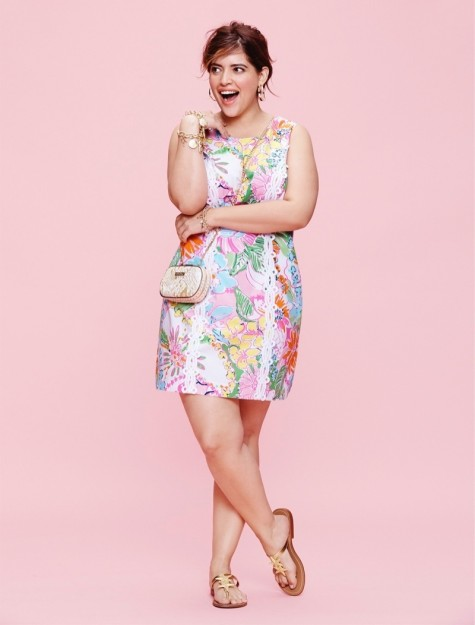 Lilly Pultizer Target Lookbook Photos